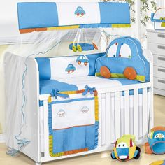 Kit berço lúdico traz vida ao quarto do bebê