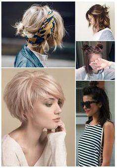 peinados bonitos para cabello corto