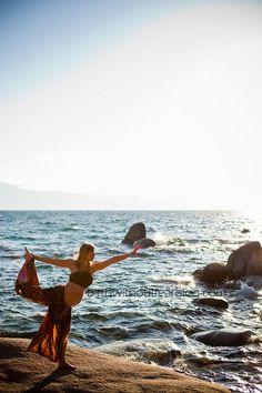 Stretch, Open, Breathe {12 Prenatal Yoga Poses To Prepare For Birth}
