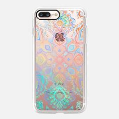 Casetify iPhone 7 Plus Case and other Boho iPhone Covers - Boho Intense on Transparent by Micklyn Le Feuvre | Casetify