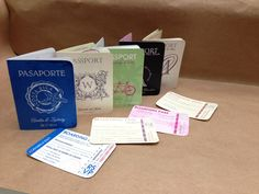 Planning a destination wedding?  How about passport style invitations.  Custom designed with love at savethedateforless.com.
