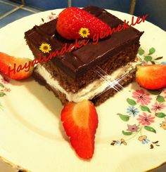 Çikolatalı Browni Pasta Tarifi