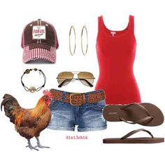 Farm Girl, everything but the jewelry.