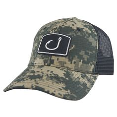 Avid Digital Camo Trucker Hat *Perfect for summer fishing!! #Fishing…