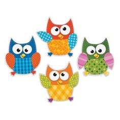 Owl Bulletin Board Cutouts | These bulletin board decorations are a hoot! Use them with an owl theme in your classroom or on their own. #classroom