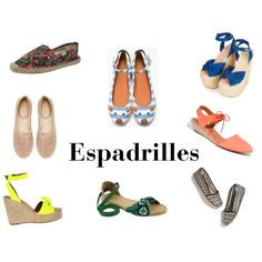 """Espadrilles"" by thestylebarn on Polyvore"