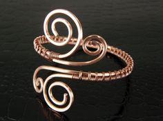 Copper Wire Weave Bracelet, Wire Wrapped Bracelet, Copper Cuff Bracelet, Copper Jewelry