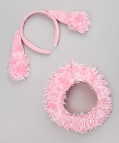 Pink Poodle Headband #zulily #zulilyfinds