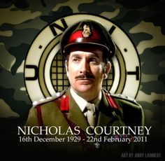 """William Nicholas Stone Courtney (16 Dec 1929 – 22 Feb 2011), the oh-so-British """"Brigadier Sir Alistair Gordon Lethbridge-Stewart, of UNIT"""" Such good heritage in the earlier seasons of Doctor Who. Sure wish they were all accessible!"""