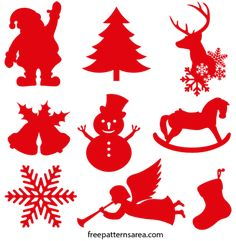Xmas Christmas Decorations Free Svg Files Paper Christmas Decorations, Christmas Ornaments To Make, Christmas Svg, Christmas Images, Christmas Stockings, Svg Shapes, Vector Shapes, Diy Christmas Shadow Box, Silhouette Cameo