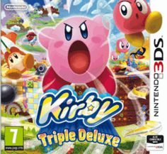 Kirby Triple Deluxe 3DS Cover Art