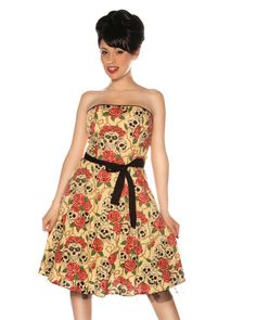 $99 Pin Up Dresses! Get an Extra 30% OFF this pin up dress today! Text STARLETSHARLOTS to 22828!