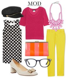 WWW Top Trends for Spring: Mod Squad     Playful pops of color, polka-dot prints, and retro accents echo the swinging '60s, but still feel entirely modern.