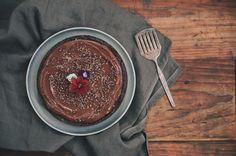 Vegan Dark Chocolate Torte