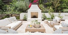 See how top interior designers and stylists are bringing the indoors out for spring and summer with fresh patio décor ideas.