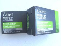 Dove Men + Care Body and Face Bar, Extra Fresh, 4 oz 2 bars #Dove