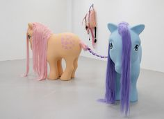 Giant Lifesize My Little Pony from Anja Carr My Little Pony, Dinosaur Stuffed Animal, Art, Sculptures, Art Background, Kunst, Performing Arts, Mlp, Art Education Resources