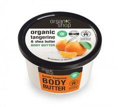 """ORGANIC SHOP Masło do ciała """"Sewilska Mandarynka"""", wzbogacone w masło shea i ekstrakt"""