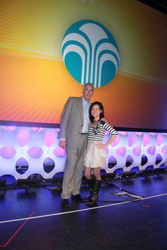 With president Scott Swert of Nu Skin