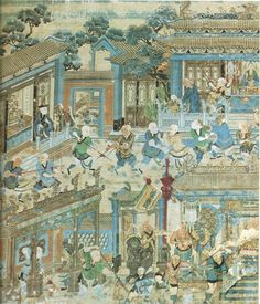 Weapons Mural.Shaolin Temple | Kung Fu Tea