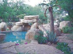 "See 1 tip from visitors to Designer Gardens Landscaping. ""Use Designer Gardens Landscaping to landscape your garden, build you a koi pond, swimming. Paving Edging, Garden Paving, Herb Garden, Garden Landscaping, Artificial Rocks, String Garden, Rock Pools, Garden Buildings, Home Design Decor"