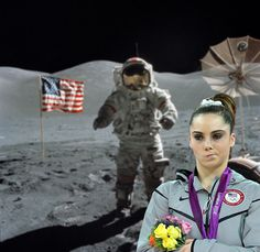 Mckayla is not impressed.