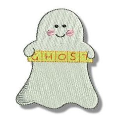 Embroidery Design Set - Little Ghost 10