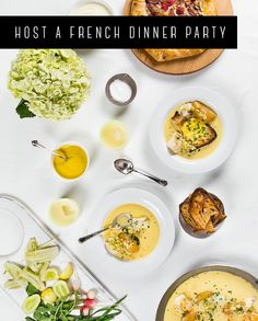 Food Style, Food Glorious, French Dinner, Dinner Parties, French Feast ...