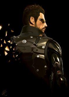 Deus Ex: Human Revolution - Adam Jensen by Tamás Patkós