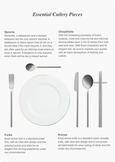 is raising funds for Ensō: Eco-Friendly Pure Titanium Cutlery, Chopsticks & Straw on Kickstarter! Made with medical grade pure titanium, Ensō redefines the art of fine dining. White Dining Table, Dining Table Chairs, Types Of Furniture, Personal Taste, Chopsticks, Dining Room Design, Modern Luxury, Fine Dining, Cutlery