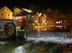Pigeon Forge, Tennessee I love this place.  And the people are the most friendly.  They make you feel at home.  A stone throw away from the mountains and Gatlinburg.