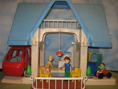 Little Tikes Dollhouse U0026 Van   EBay