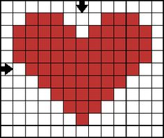 Cross Stitches mini cross stitch heart - nice and simple - A sampling of free cross stitch patterns. Easy Cross Stitch Patterns, Small Cross Stitch, Cross Stitch Heart, Cross Stitch Designs, Cross Stitching, Cross Stitch Embroidery, Embroidery Patterns, Hand Embroidery, Crochet Cross