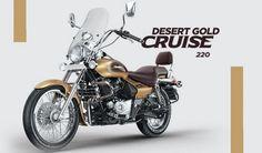 Bajaj Avenger Cruiser 220, el desierto en tus manos.  #Bajaj #AvengerCruise220…