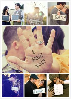 clever save-the-date ideas | ... said yes save the date Our Creative Wedding Announcement Save The Date