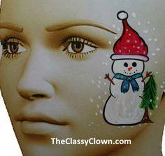 facepainting kerstman - Google zoeken
