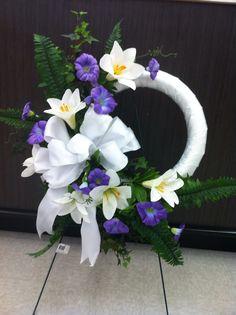 Easter memorial wreath 2 store 4930