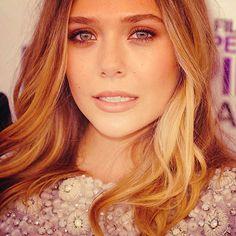 too perfect. Elizabeth Olsen.