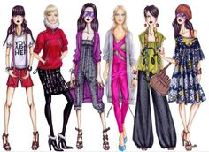 Fashion Design Sketches Be a Designer for Yourself