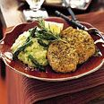 Baked Herb-Crusted Chicken Breasts Recipe at Epicurious.com