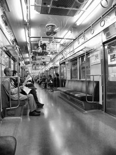Tokyo Metro - during off hours.
