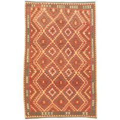 Shop for ecarpetgallery Handmade Anatolian Red Wool Kilim Rug (5'2 x 8'3). Get free shipping at Overstock.com - Your Online Home Decor Outlet Store! Get 5% in rewards with Club O!