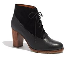 The two-tone lace-up boot.