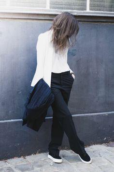 Black & White Chic look