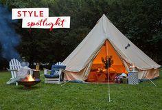 Set the Scene: Host a Glamping Night #PinMyDreamBackyard