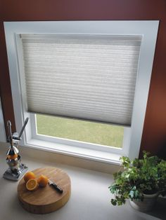 Honeycomb Shades: small window, large window, doesn't matter - they'll make it look pristine. Honeycomb Shades, Blinds For You, Cellular Shades, Custom Window Treatments, Small Windows, Custom Windows, Shutters, Custom Shades, Curtains