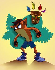 Crash Bandicoot by miranda-ketu on DeviantArt