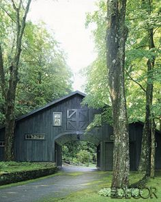 Richard Lambertson and John Truex Home Photos - Country House Decor - ELLE DECOR