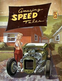 Amazing Speed Tales by Keith Weesner