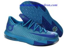 new style 9b642 dcd7c 2013 New Nike Zoom KD 6 Low Royal Blue Kevin Durant Shoes Basketball Shoes  Store